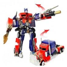 Робот-трансформер Optimus Prime робот+машинка Bambi 2829 красно-синий