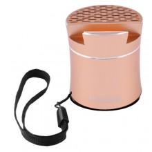 Беспроводная портативная Bluetooth-колонка Peterhot PTH-307 Shaking золотистая