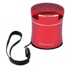 Беспроводная портативная Bluetooth-колонка Peterhot PTH-307 Shaking красная