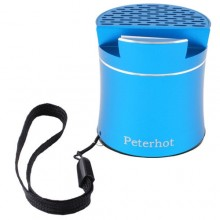 Беспроводная портативная Bluetooth-колонка Peterhot PTH-307 голубой