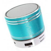 Беспроводная портативная Bluetooth-колонка  Tofu S37U голубая