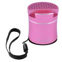 Беспроводная портативная Bluetooth-колонка Peterhot PTH-307 Shaking розовая