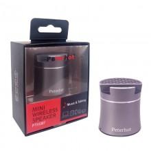 Беспроводная портативная Bluetooth-колонка Peterhot PTH-307 Shaking черная