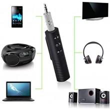 Приемник адаптер AX-03 mini Bluetooth 4.1 AUX ресивер гарнитура FM-трансмиттеры