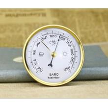 Карманный барометр Baro 90B белый с золотистым