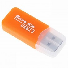MicroSD card reader адаптер для USB Orange