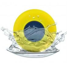 Беспроводная колонка для душа Zha BathBeats желтая