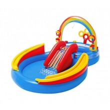 Детский надувной игровой центр-бассейн Intex 57453 Радуга от 2х лет