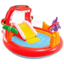 """Игровой центр """"Счастливый Динозавр"""" Интекс 57163 детский бассейн от 2х лет"""