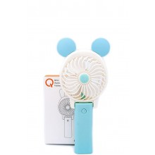 Ручной мини вентилятор на аккумуляторе Qfan голубой