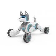 Радиоуправляемый робот-собака Stunt Dog  666-800A браслет-пульт белый