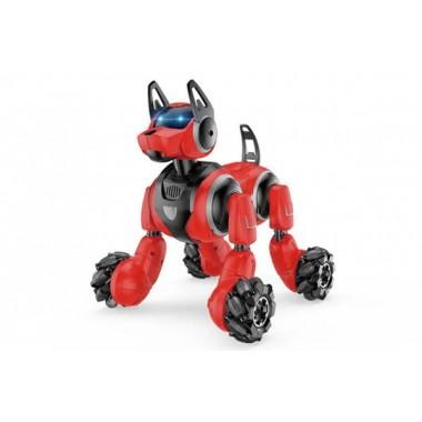 Радиоуправляемый робот-собака Stunt Dog  666-800A браслет-пульт красный