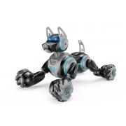 Радиоуправляемый робот-собака Stunt Dog  666-800A браслет-пульт серый