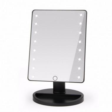 Настольное зеркало для макияжа Magic Makeup 16 с LED подсветкой Белое AA-01